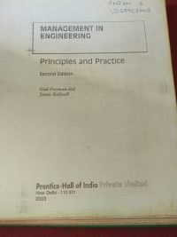 Management in Engineering by Gail Freeman-Bell and James Balkwill