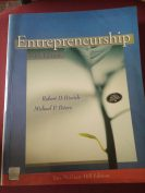 Entrepreneurship 16th edition by Robert D.Hisrich and Michael