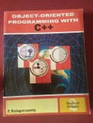Object oriented programming with C++ by E Balagurusamy