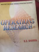 Operations research by S.D.Sharma