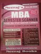 MBA Semester Scanner for 3rd semester