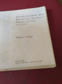 Cryptography and Network security by William Stallings
