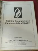 Training programme on fundamentals of quality