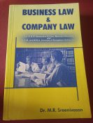 Business law and Company law by Dr.M.R.Sreenivasan